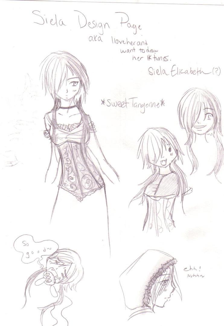 Siela Thornwood - more sketche by DriRose