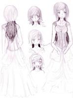 Siela - character sheet by DriRose