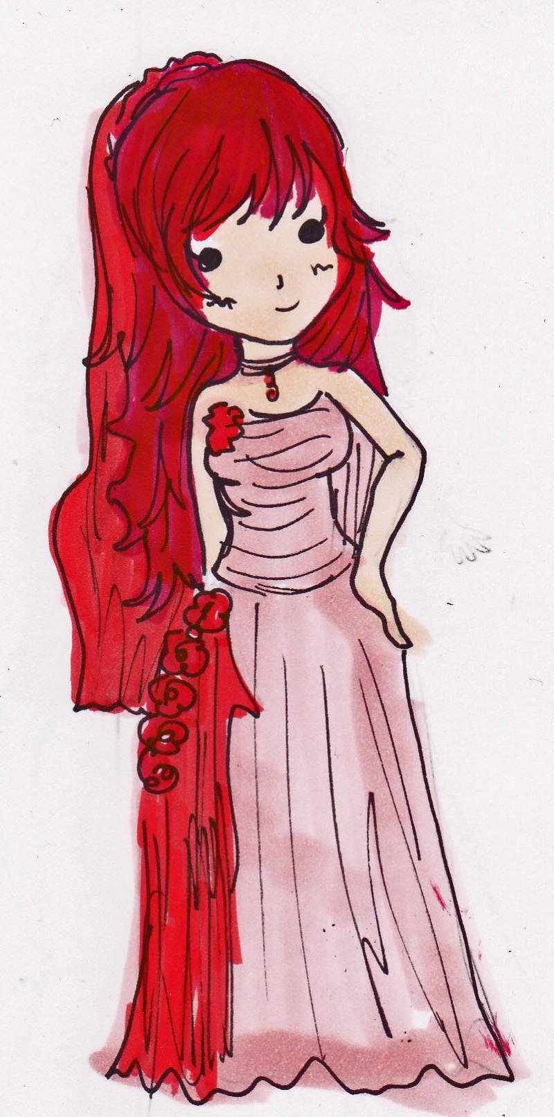 Chibi Rose Dress by DriRose