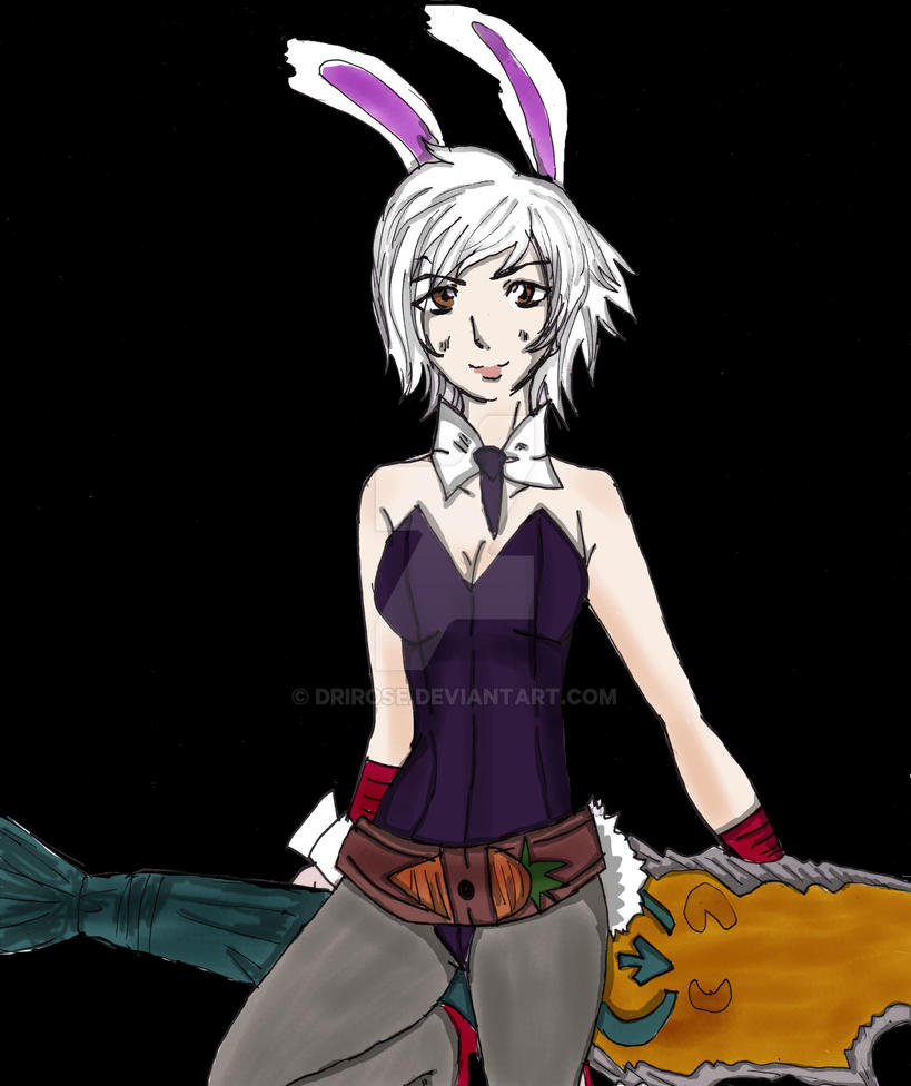 Battle Bunny Riven by DriRose