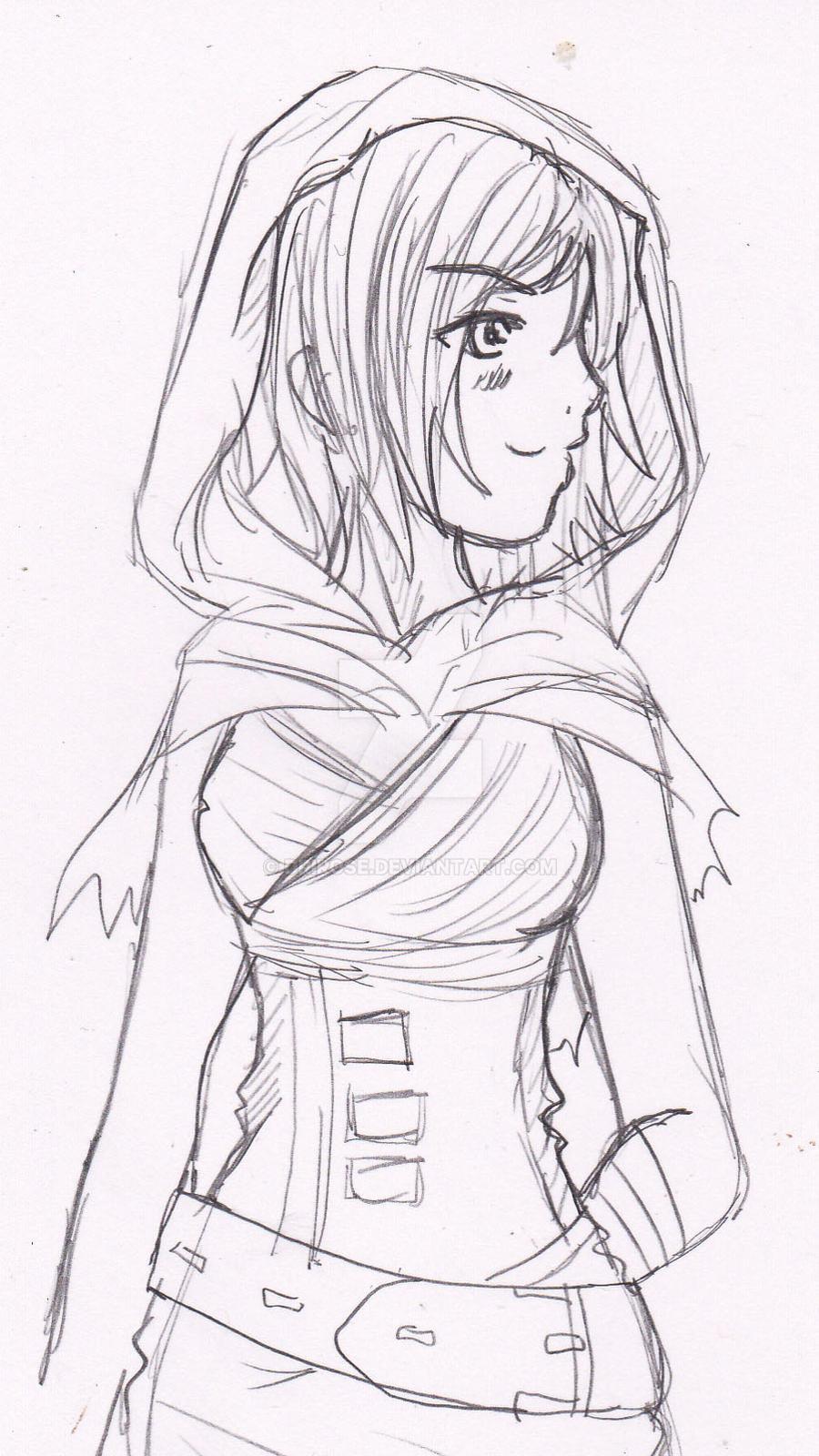 Riven Sketch by DriRose