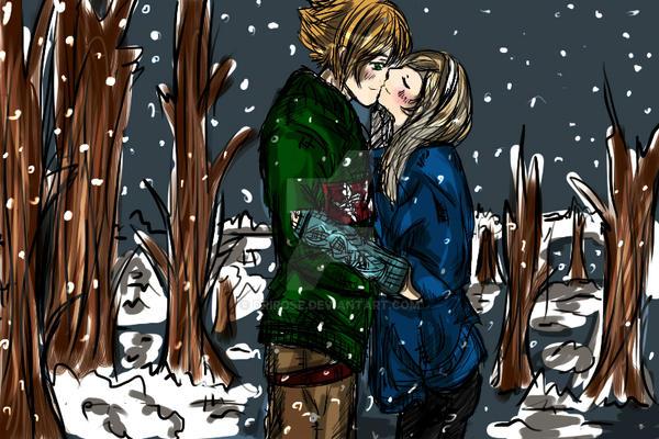 Winter Kiss by DriRose