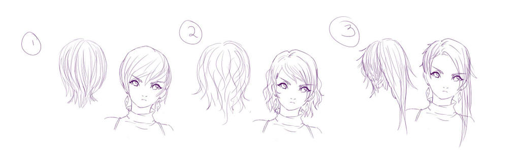 Hairstyle contest entry by DriRose