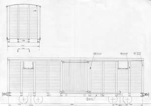 Old 17ton boxcar