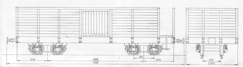 10ton gondola car