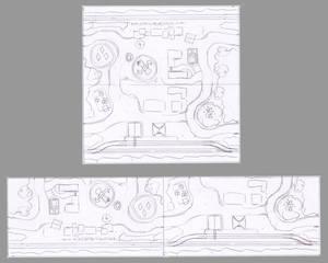 Ponyville H0 layout idea