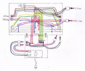 Railway layout schema