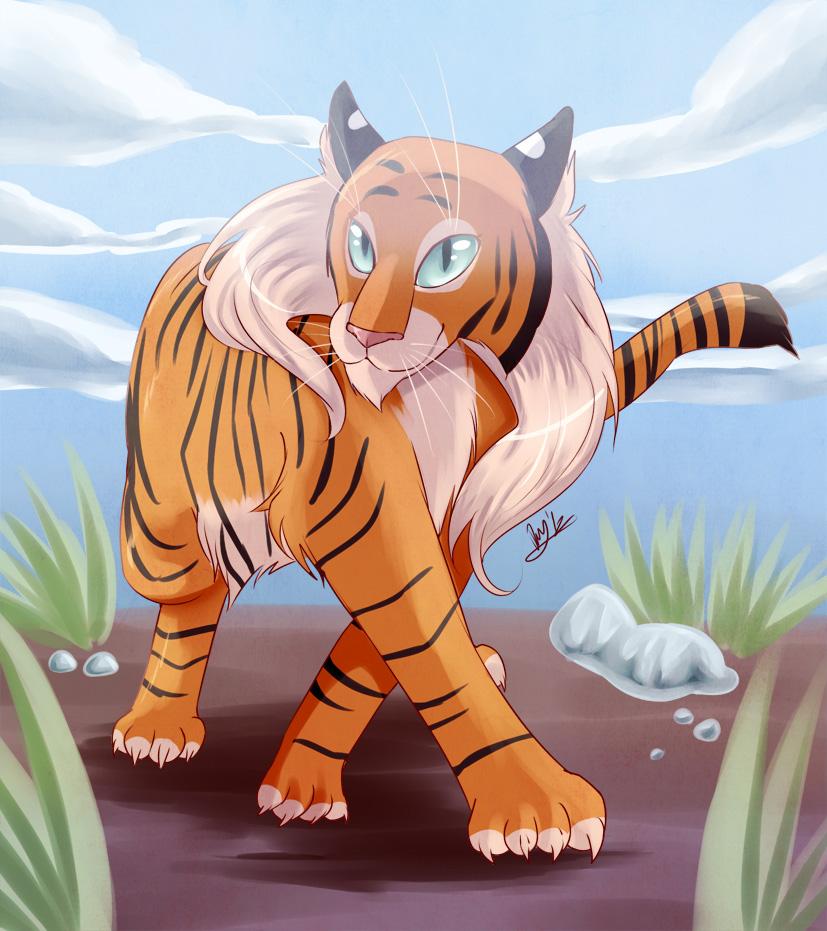 Tigress Daina by WhitePhox
