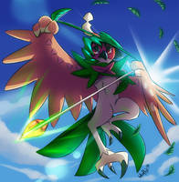 Decidueye by WhitePhox