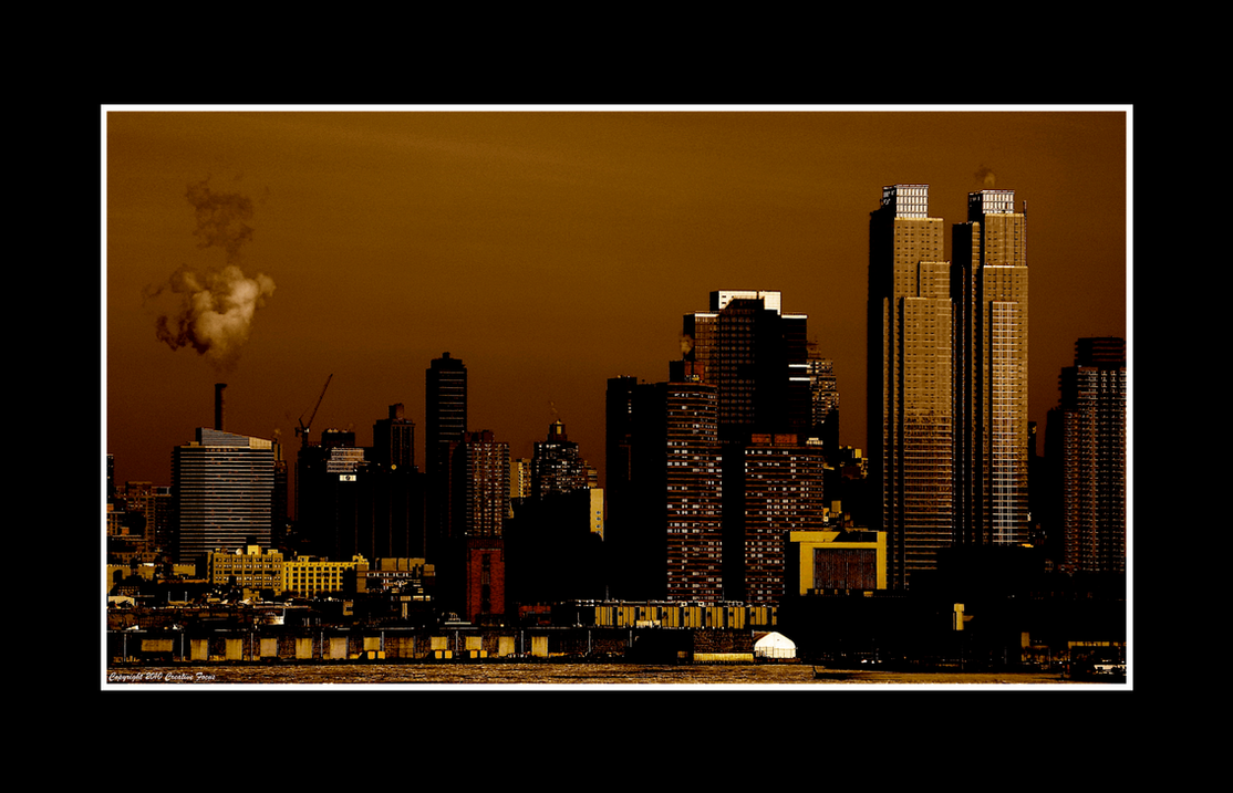 Manhattan Across the Hudson by Trippy4U