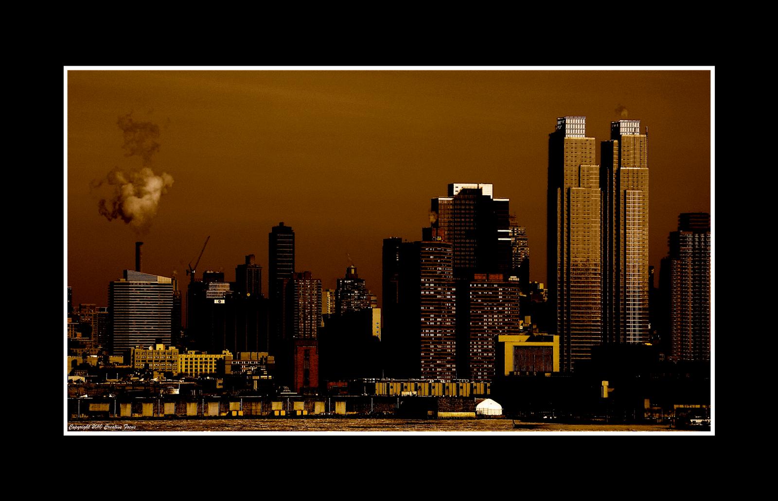 Manhattan Across the Hudson by Trippy4U
