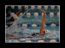 Women's Swim by Trippy4U