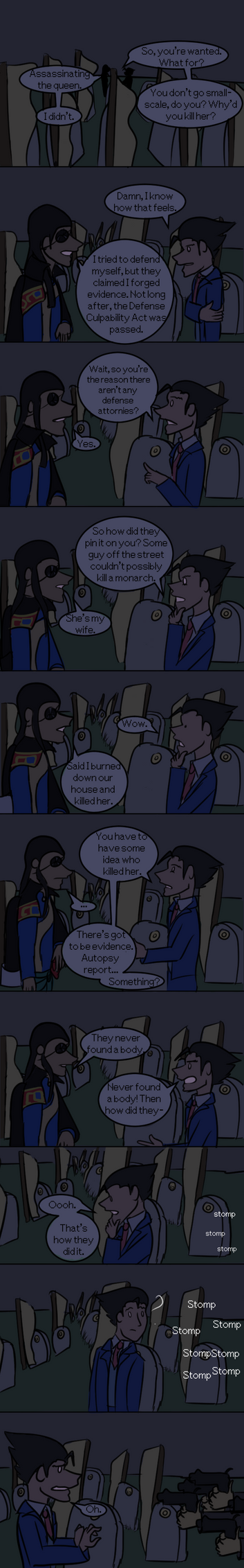 Phoenix Wright is an Asshole Ep. 26 by AthenaHolmes