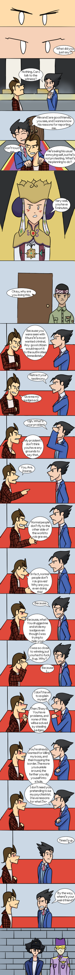 Phoenix Wright is an Asshole Ep. 29 by AthenaHolmes