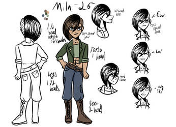 Mila Character Reference by AthenaHolmes