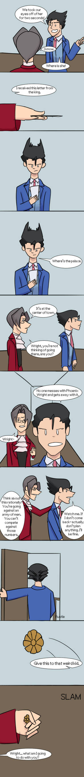 Phoenix Wright is an Asshole Ep. 39 by AthenaHolmes