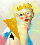 Drip / Experimental digital painting commission