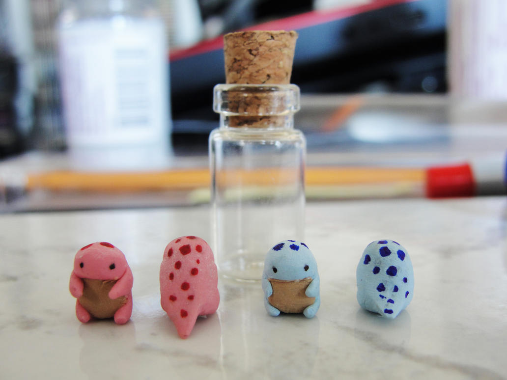 Miniature Quaggans by LiviaZita