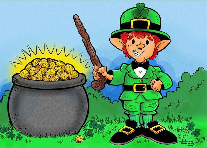 Image Result For Leprechaun With Pot