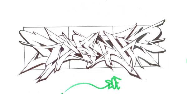 Graffiti Shoe Art by MF-minK on DeviantArt