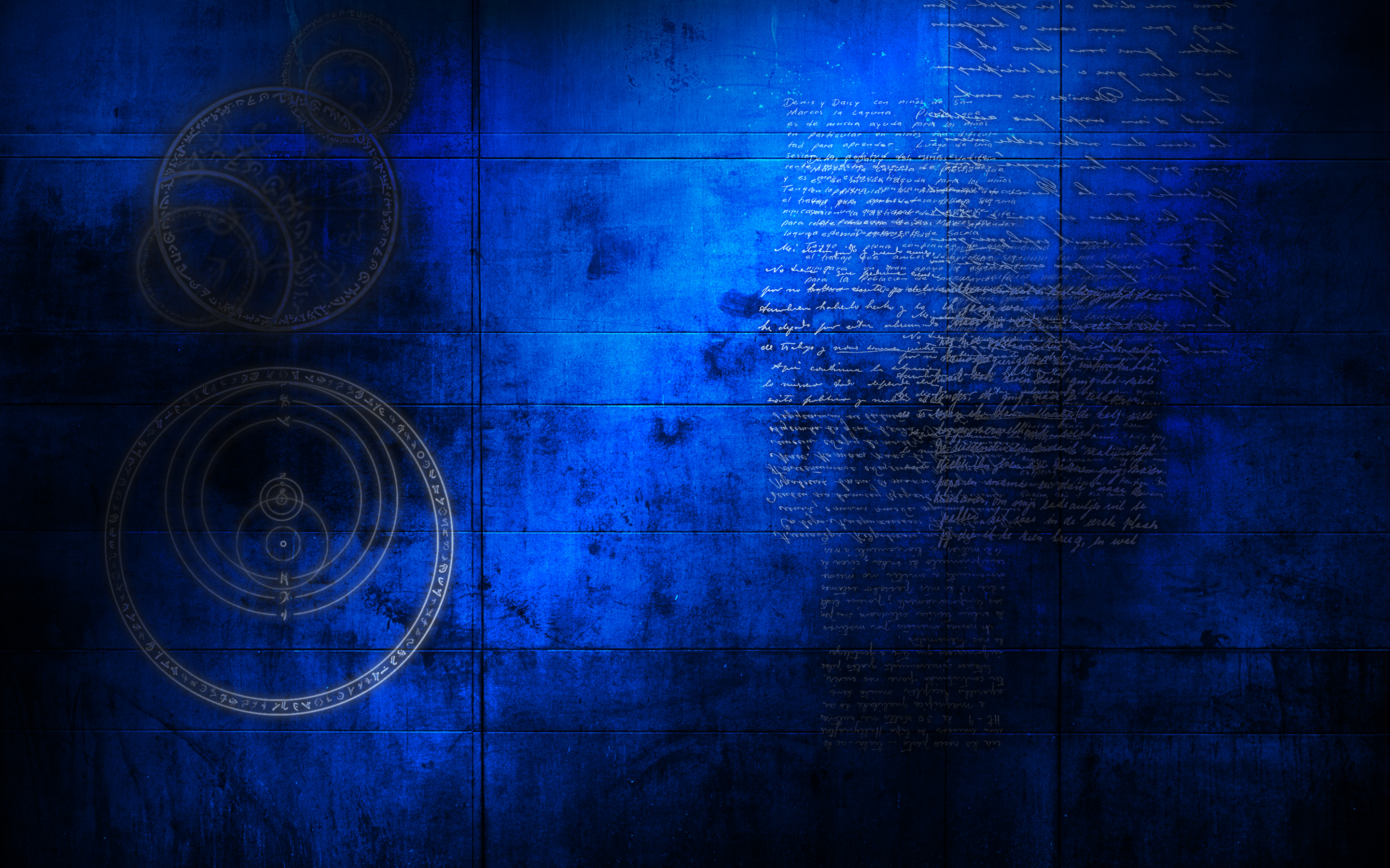 Cell wall inverted wallpaper by tormentedartifacts on for Dark blue wallpaper for walls