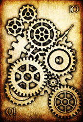 WRD: Ten of Cogs by TormentedArtifacts