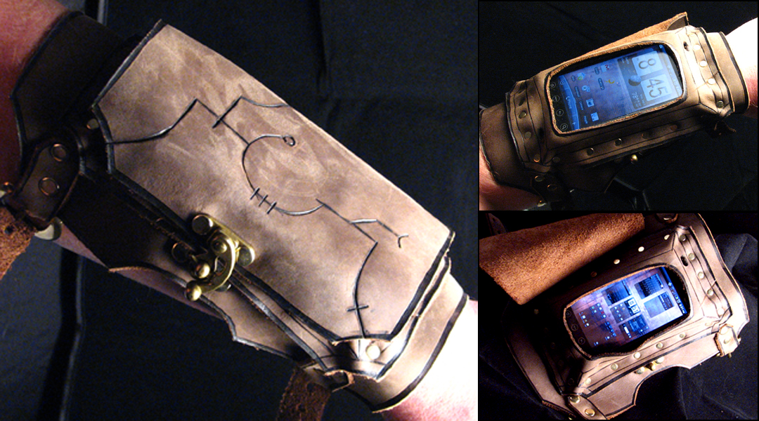 Communications Bracer by TormentedArtifacts
