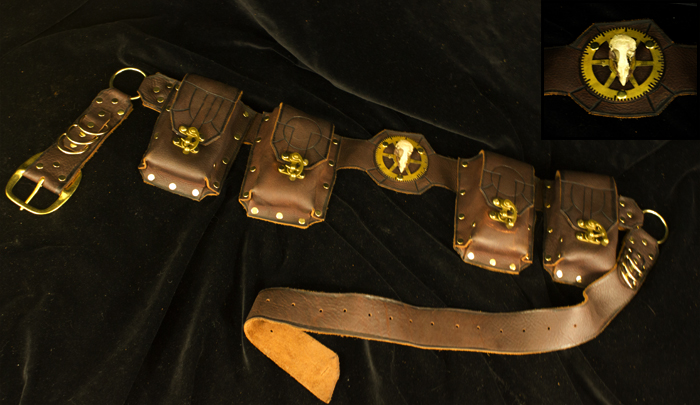 Arcanepunk: The Vigilante Belt by TormentedArtifacts