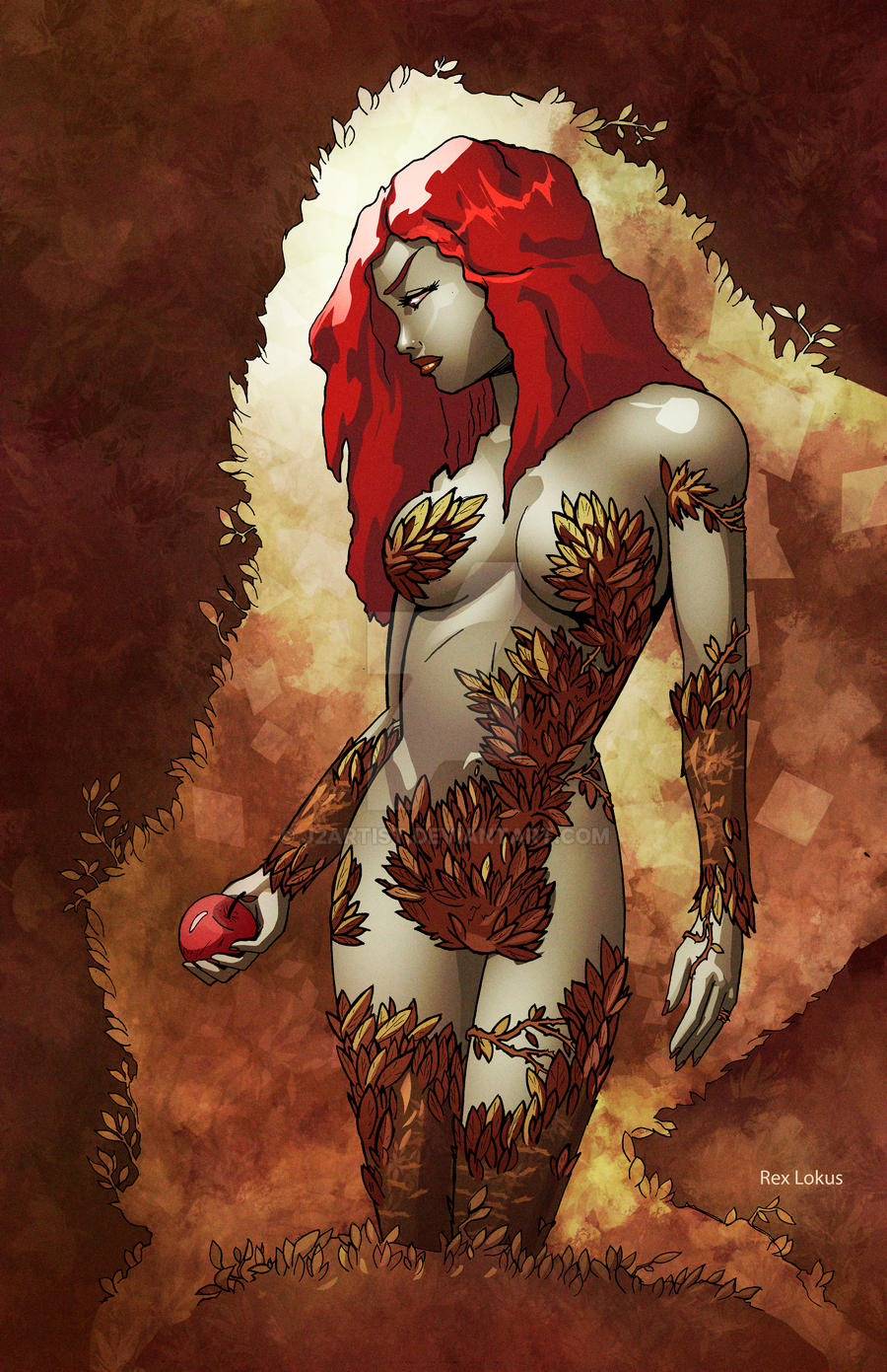 Posion Ivy Fall by j2Artist