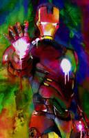 Iron Man (Heroes) by j2Artist