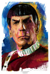 Mr. Spock by j2Artist