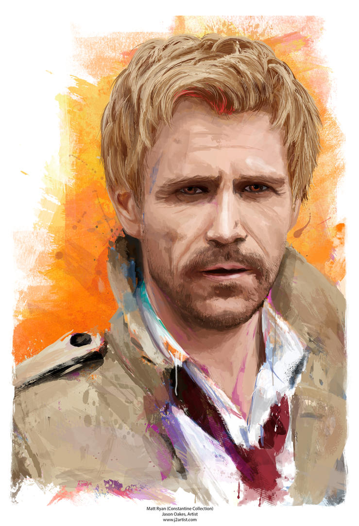 Matt Ryan as Constantine by j2Artist