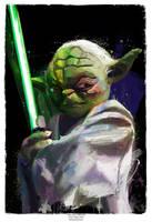 Yoda Jedi Master he is by j2Artist
