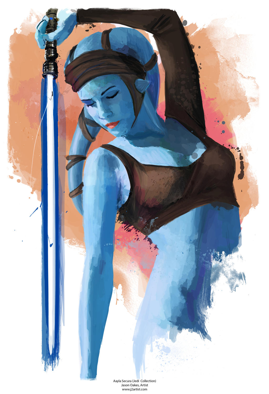 Star wars aayla secura sexy