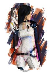 Miranda (mass effect) by j2Artist