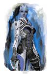 Liara From Mass Effect