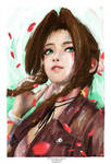Aerith from Final Fantasy VII