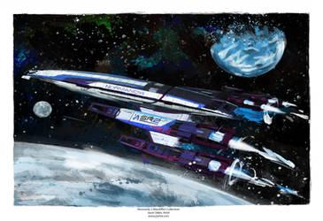Nomandy 2 (Mass Effect) by j2Artist