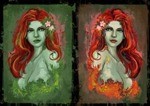 poison Ivy portriat