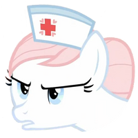 MLP Nurse Redheart avatar - s2ep13 by Nouthriss