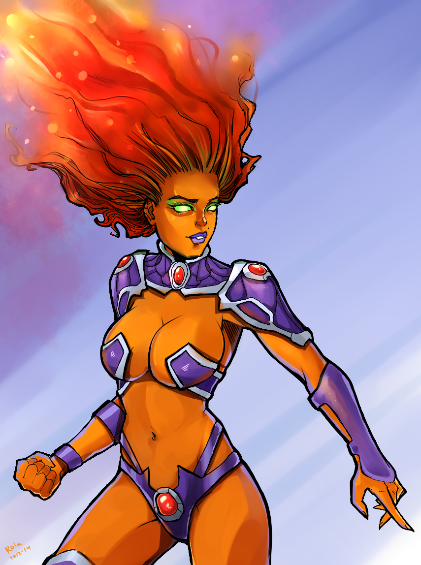 Starfire by kola411