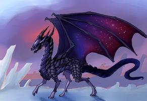 Black dragon by kola411