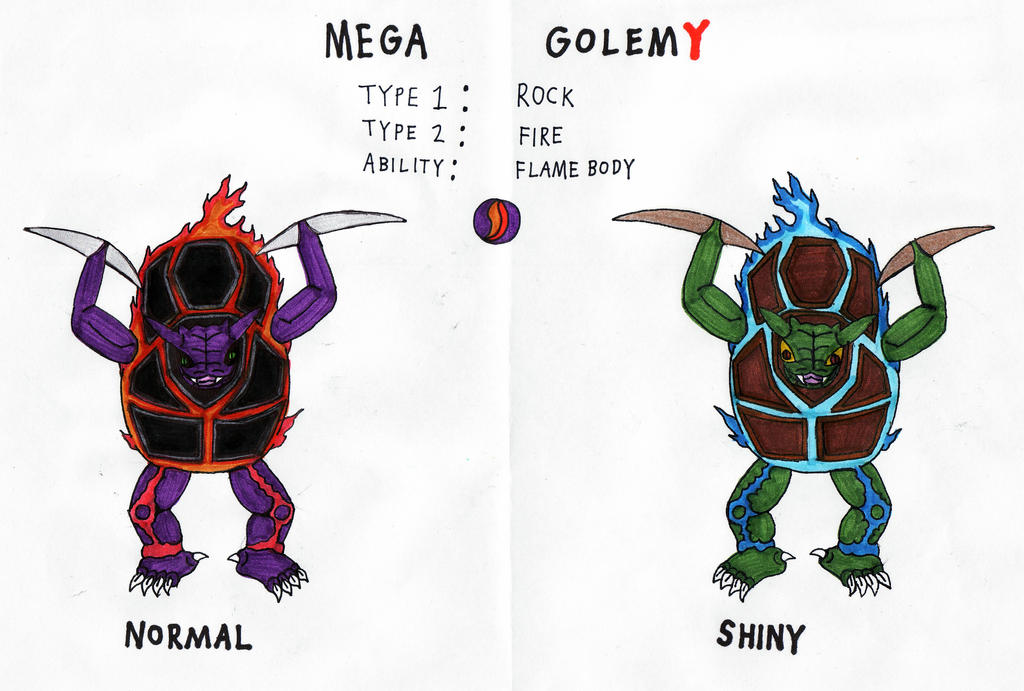 Mega Golem Y by KingDRagonZero on deviantART