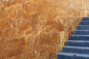 Wall and Steps by purple-elf-stock