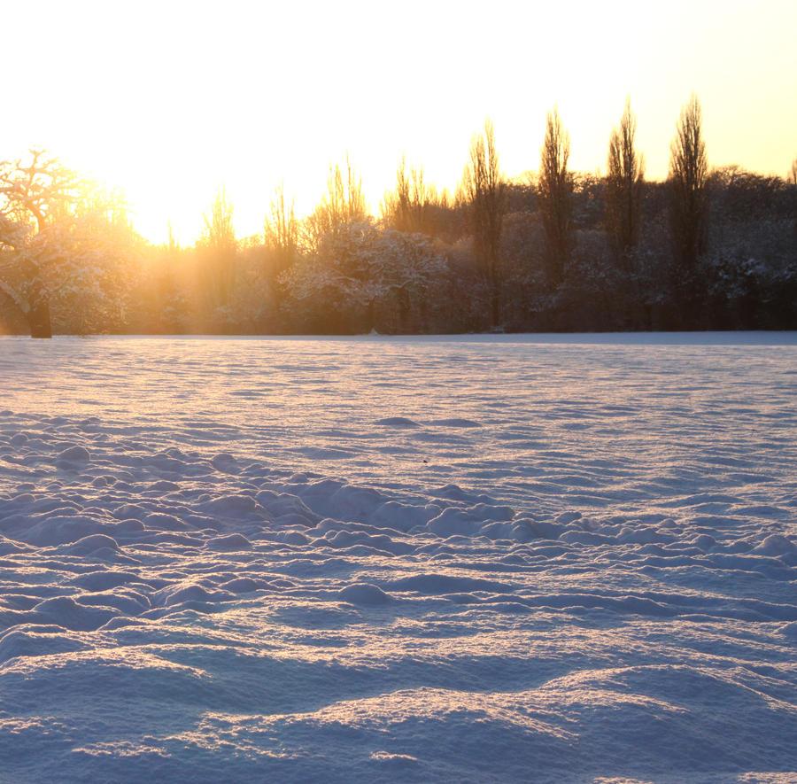 Crunchy snow by Supabyte