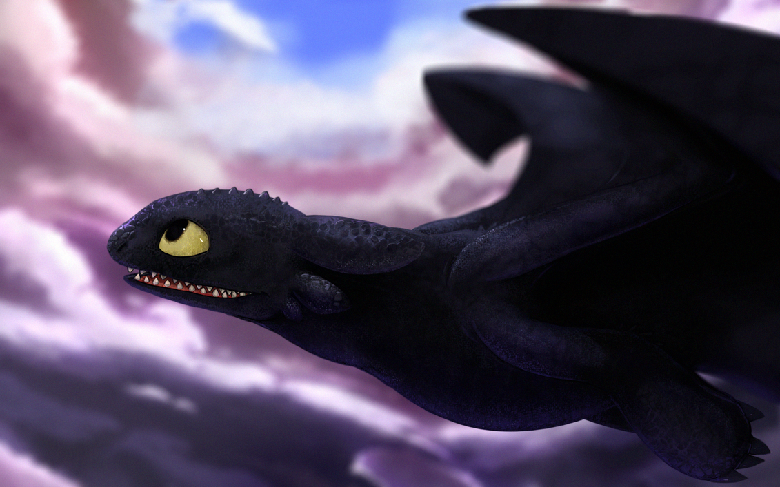 Httyd toothless wallpaper by duiker on deviantart - Toothless wallpaper ...