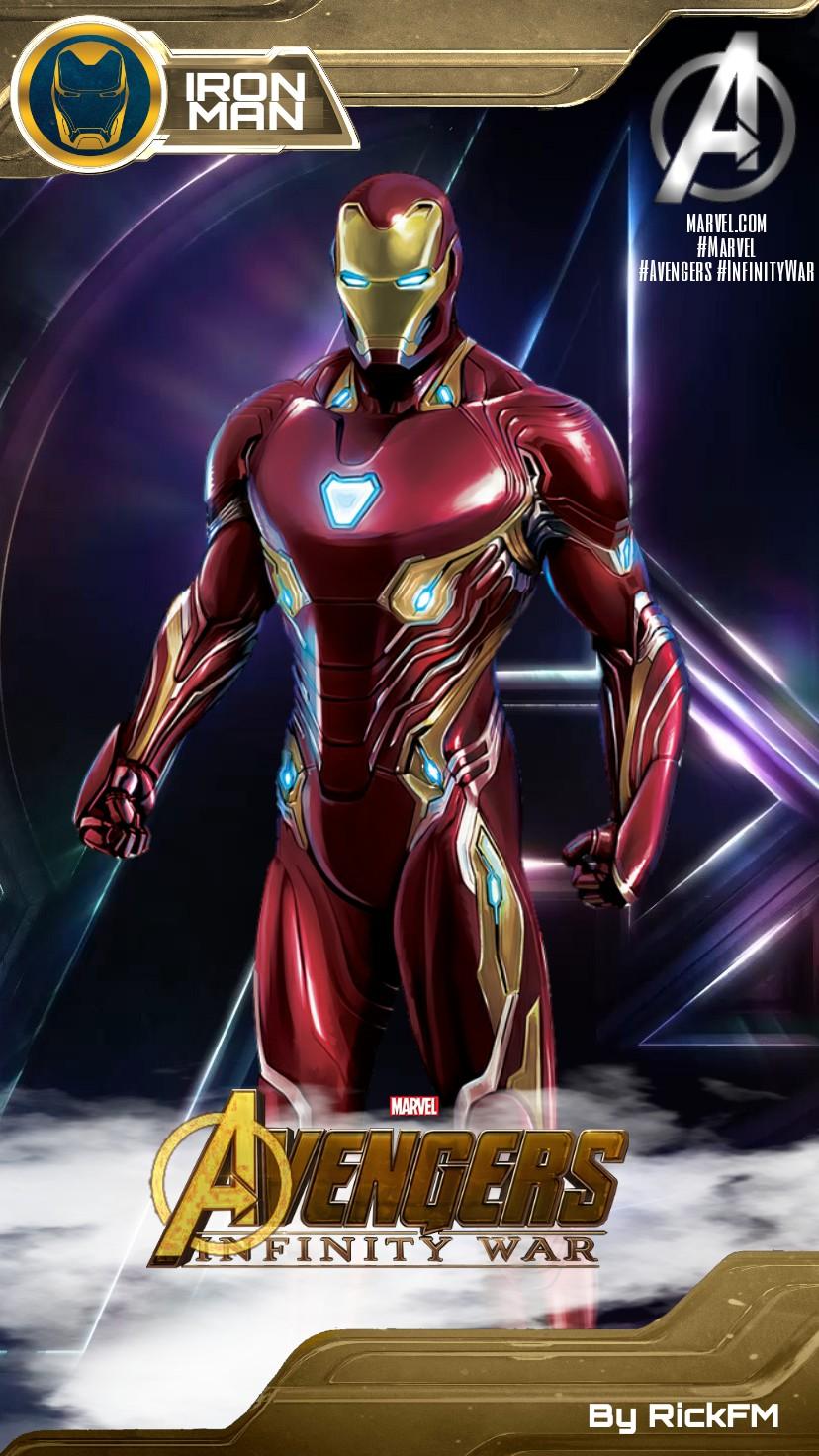 Avengers Infinity War Iron Man Mark 50 Wallpaper By Rickfm On