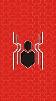 SpiderMan FFH Logo Android Wallpaper