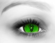 Cat's eye by Elizavet