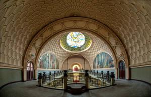 Abandoned Art Deco Dancehall.